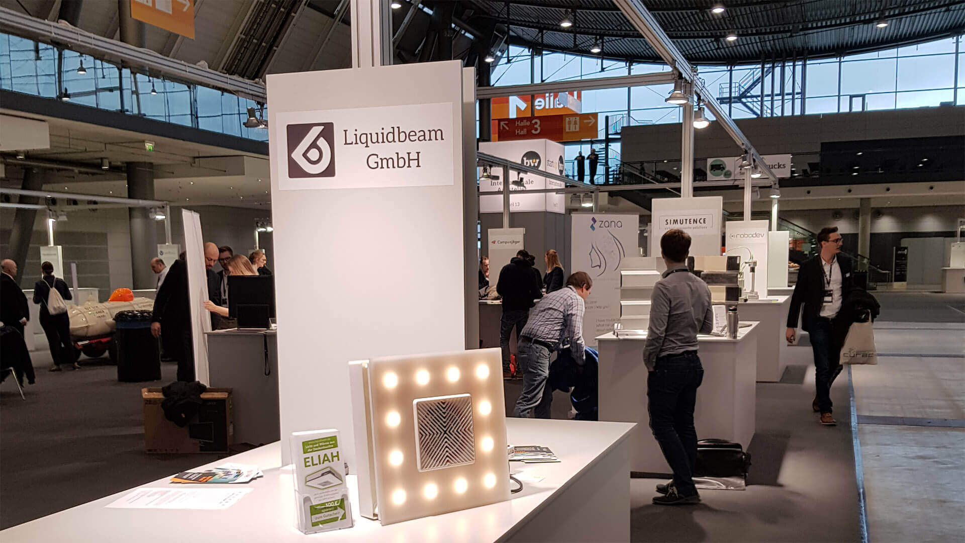 Messestand Stuttgart 2019
